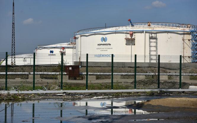 На нефтебазах Норильска и Дудинки установили  противоаварийную защиту