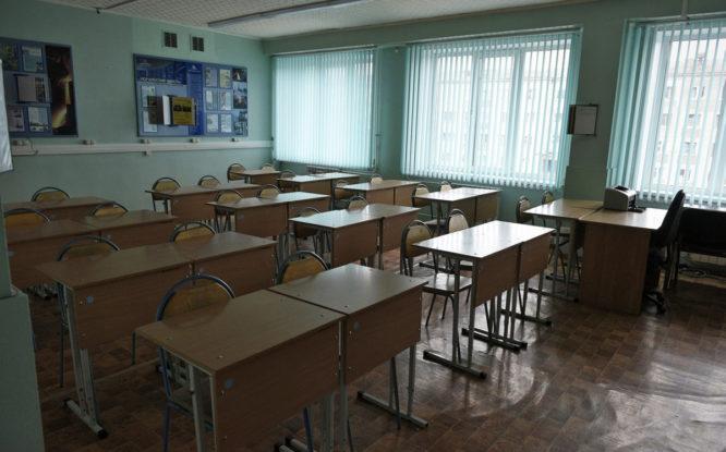 В норильской гимназии №11 продолжается ремонт