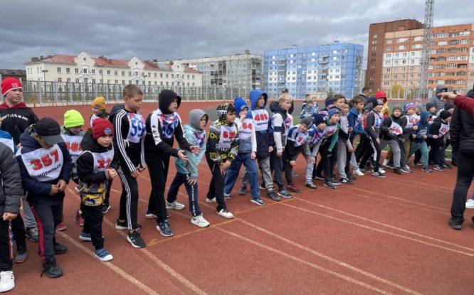 «Кросс нации» прошел на стадионе «Заполярник»