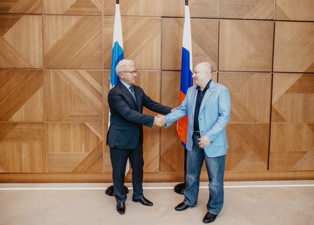 Владимир Потанин и Александр Усс обсудили сотрудничество краевых властей и «Норникеля»