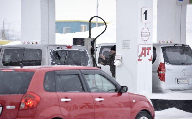В Норильске дорожает бензин
